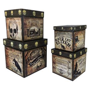 Bethany Lowe Apothecary Nesting Boxes