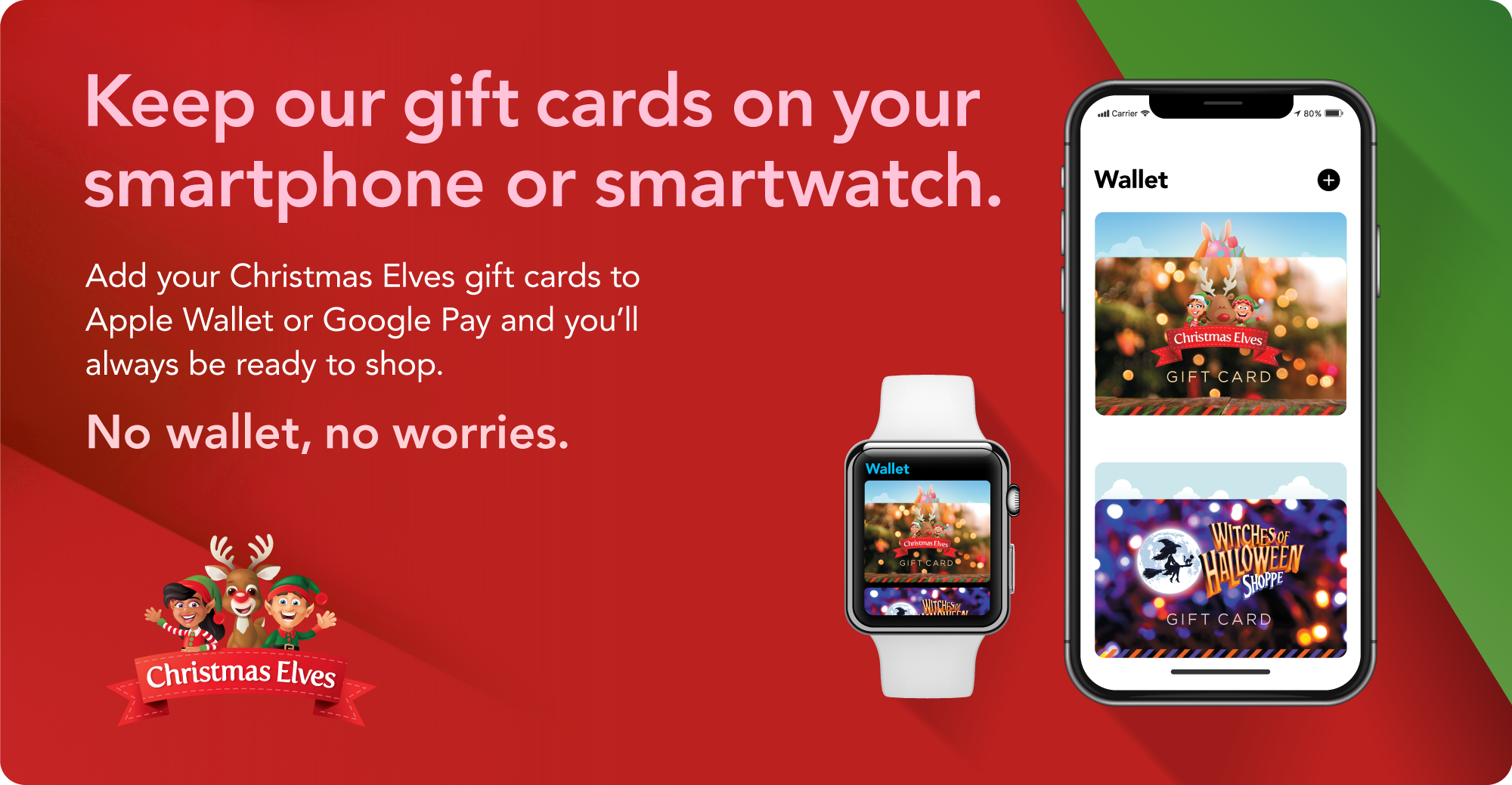 Christmas Elves Group Gift Cards: The Perfect Gift!