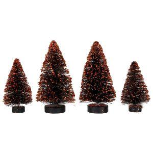 Bethany Lowe Mini Trees - Set of 4