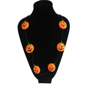 Light Up Halloween Necklace