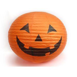 Jumbo Paper Halloween Pumpkin - 68cm