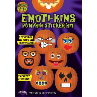 Emoti-kins Pumpkin Sticker Kit - 6 Looks