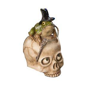 Bethany Lowe Toady on Skull
